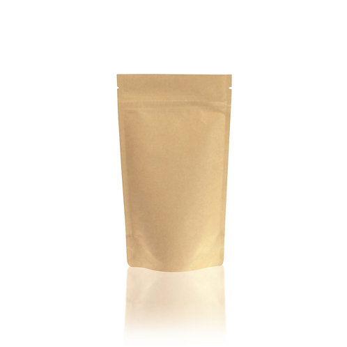 Kraft Paper Stand-up Pouch With Zipper