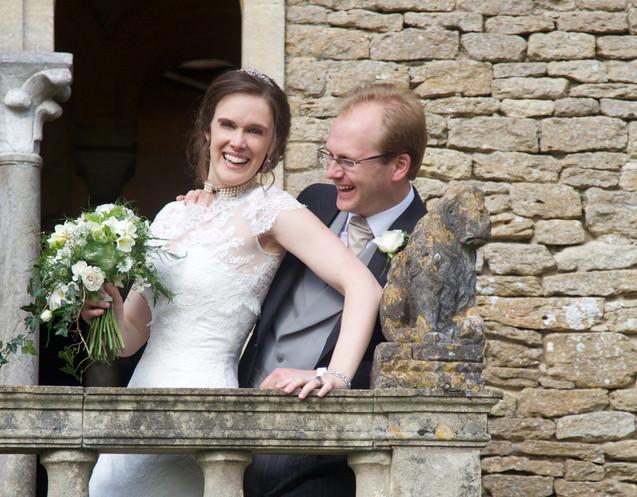 Spring Wedding- Bride with floral bouquet