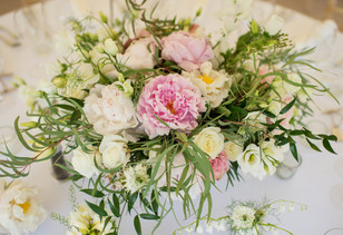 Summer Wedding Flower Centre Piece Table  Arrangements