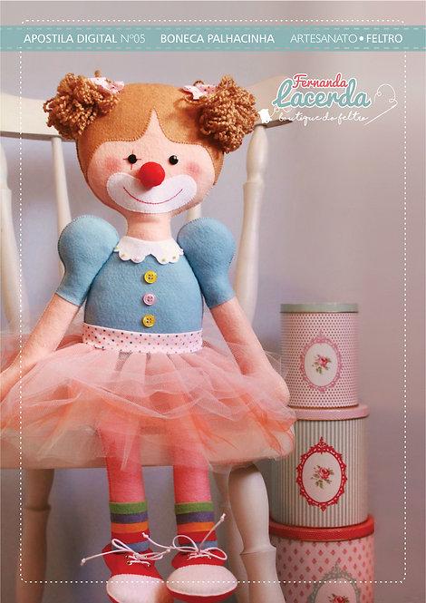 Apostila Digital nº05 - Boneca Palhacinha