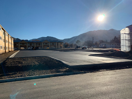 November Update: First Building Exterior is Unveiled ... and we have a parking lot!