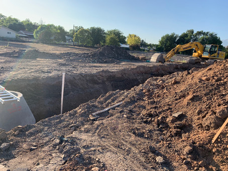 August Update 2019 - Sewer Lines