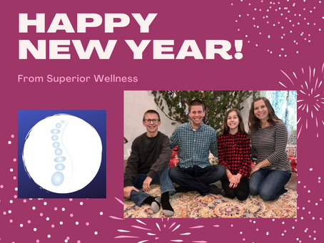 Happy 2021 from Superior Wellness!