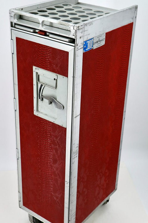 Barbertrolley Red Croco