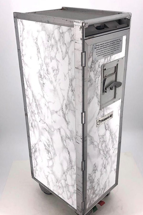 Barbertrolley White Marble