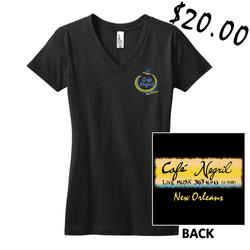 Ladies V-Neck Sign $20
