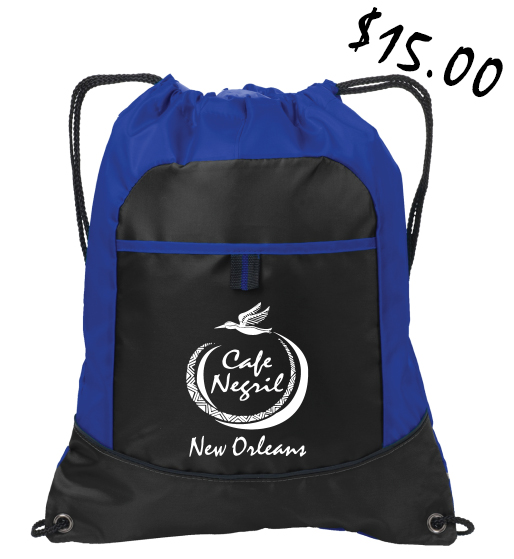 Cafe Negril Cinch Backpack $15