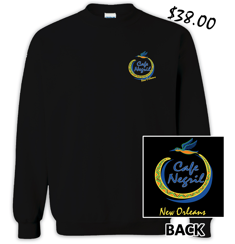 Cafe Negril Sweatshirt $38
