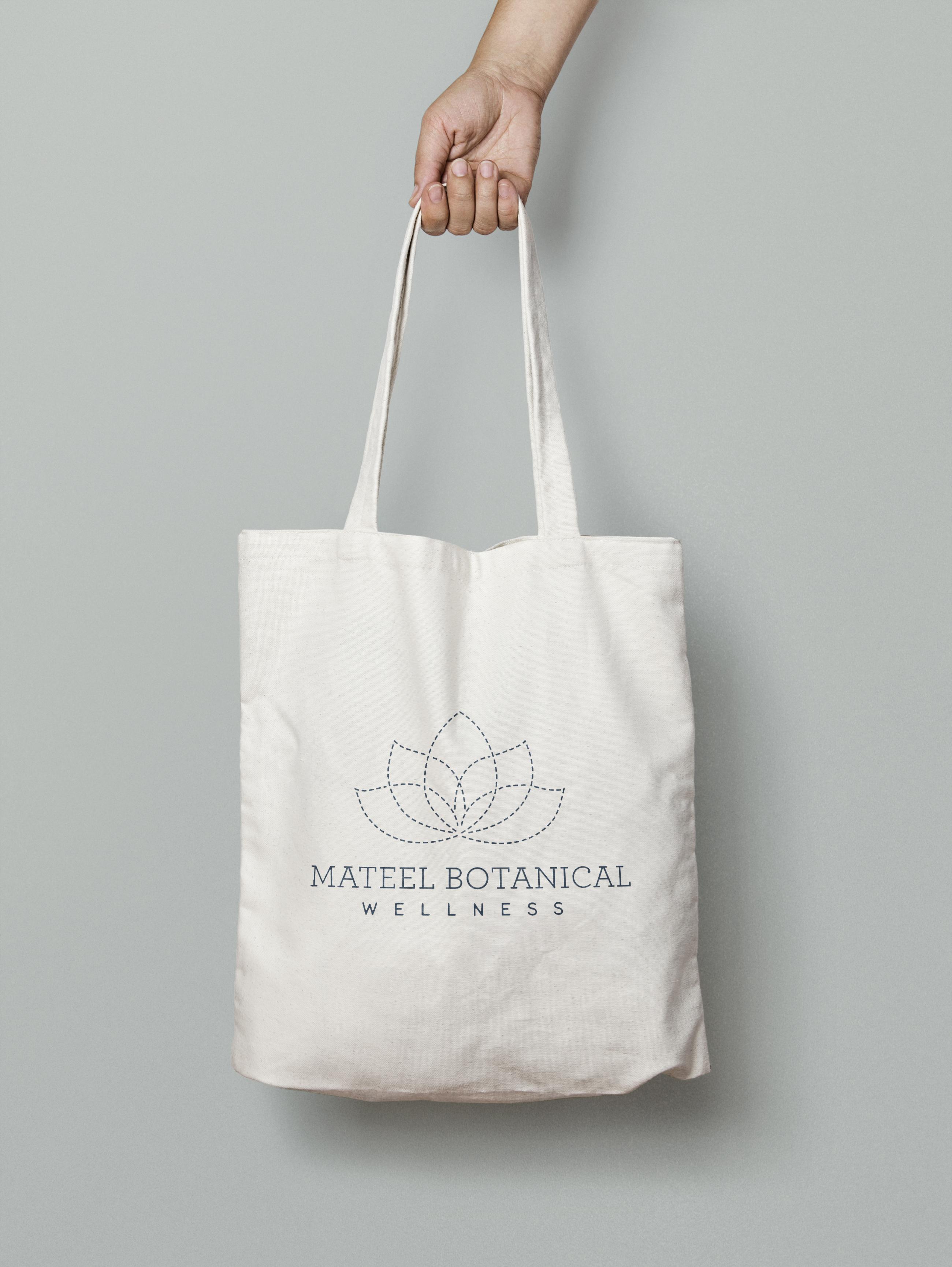mateel logo bag