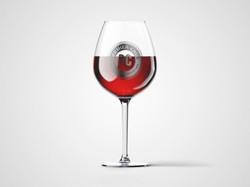 Premier Cruz Wine Glass