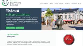 Oulun seudun Uusyrityskeskus – verkkosivujen päivittäminen