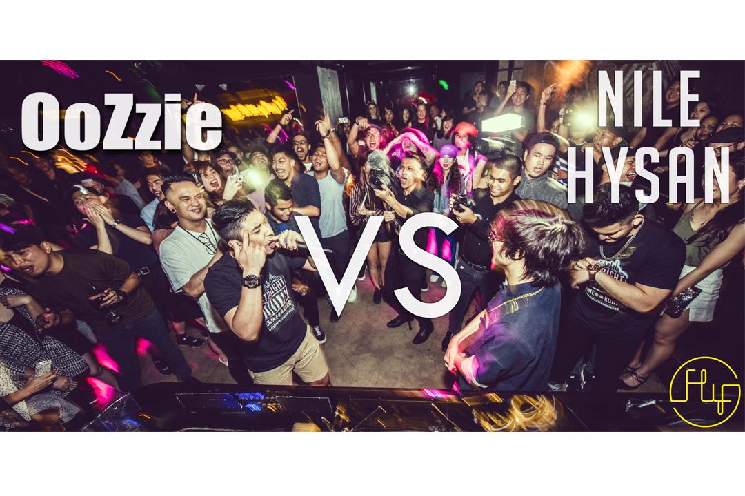 HK's 1st International Rap Battle