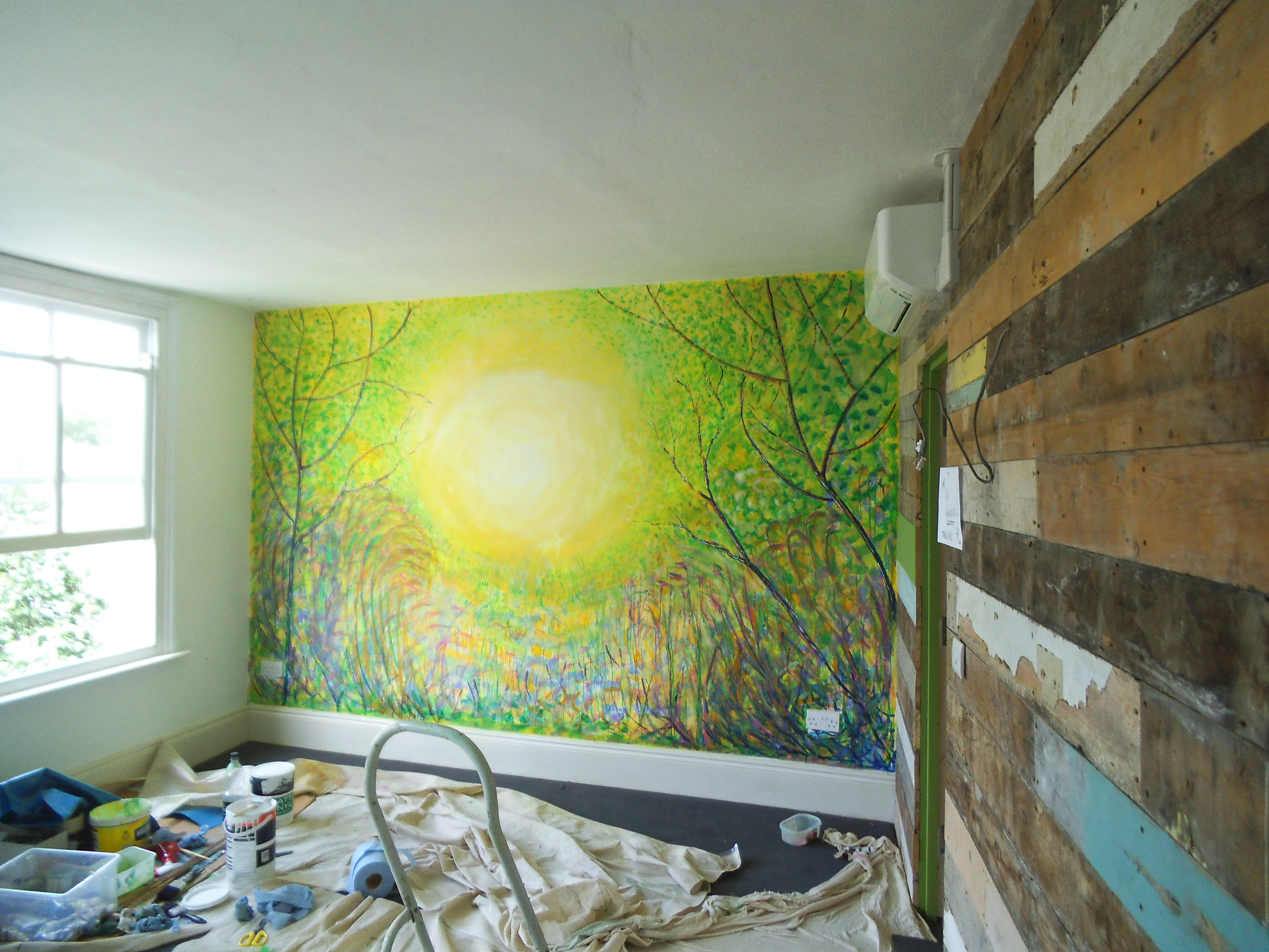 Coffee7 Wall painting