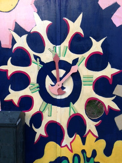 Forest Gate's famous clock face