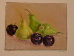 Pears and plums