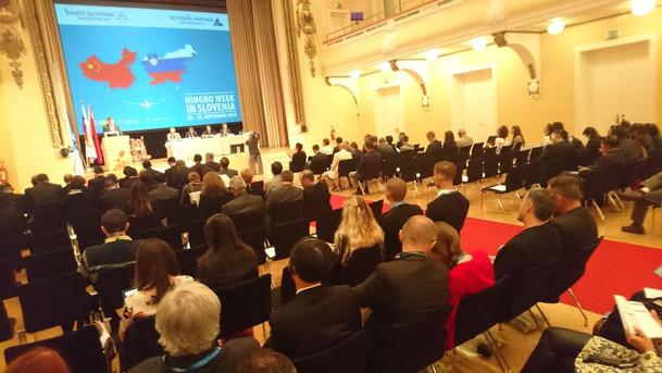 Ningbo Business delegation in Slovenia