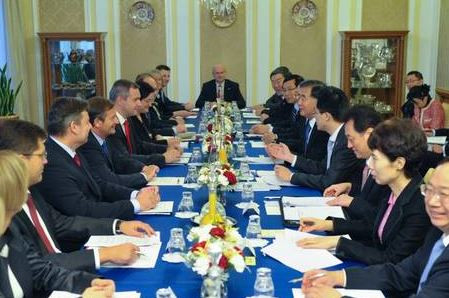 Chinese Vice Premier visiting Slovenia