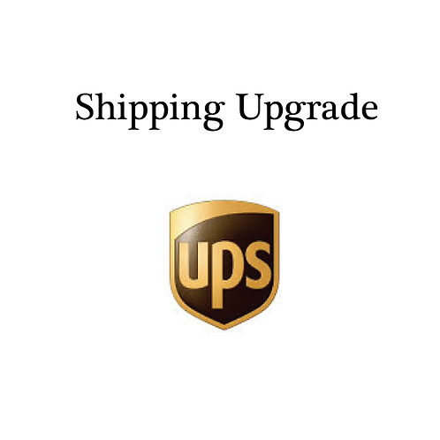 Ship via UPS Ground
