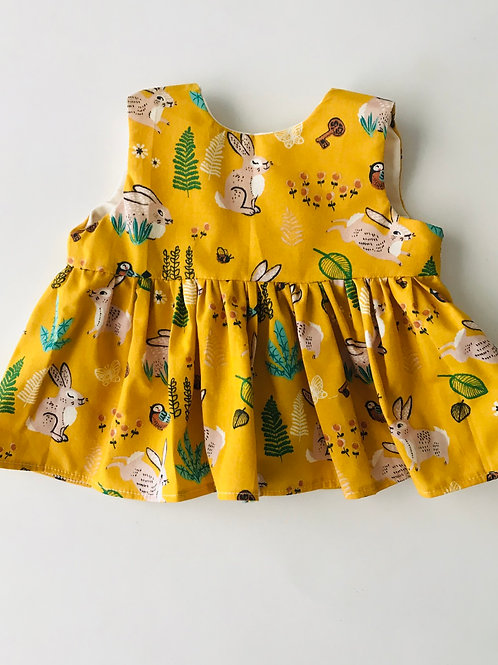 Mustard Bunny Top
