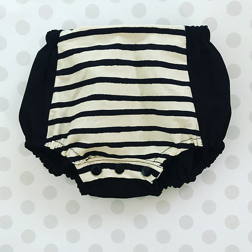 Black + Stripes Bloomers