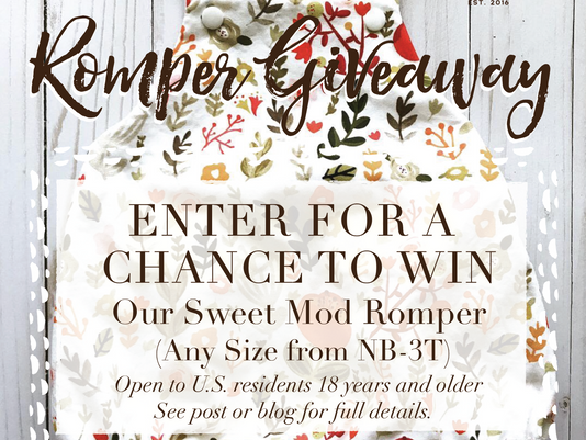 Baby Romper Giveaway!