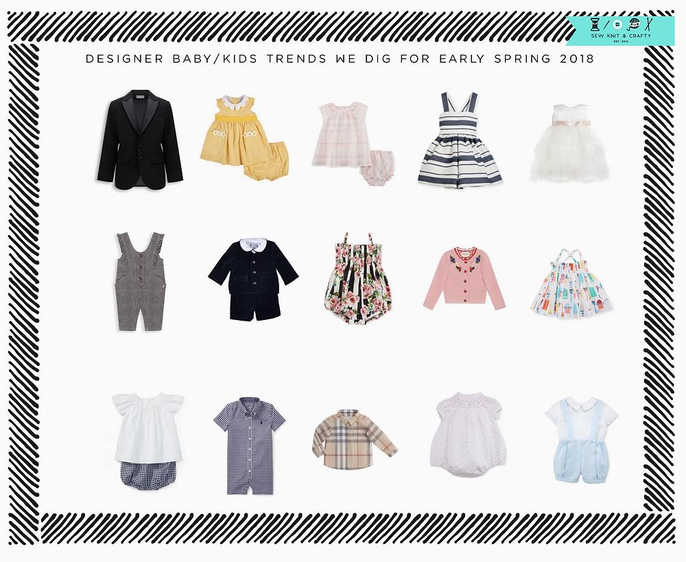 Designer Baby Kids Trends We Like for 2018