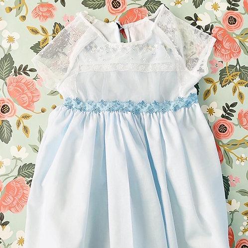 Batiste + Lace Dress