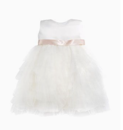 Joan Calabrese Tiered Ruffled Dress