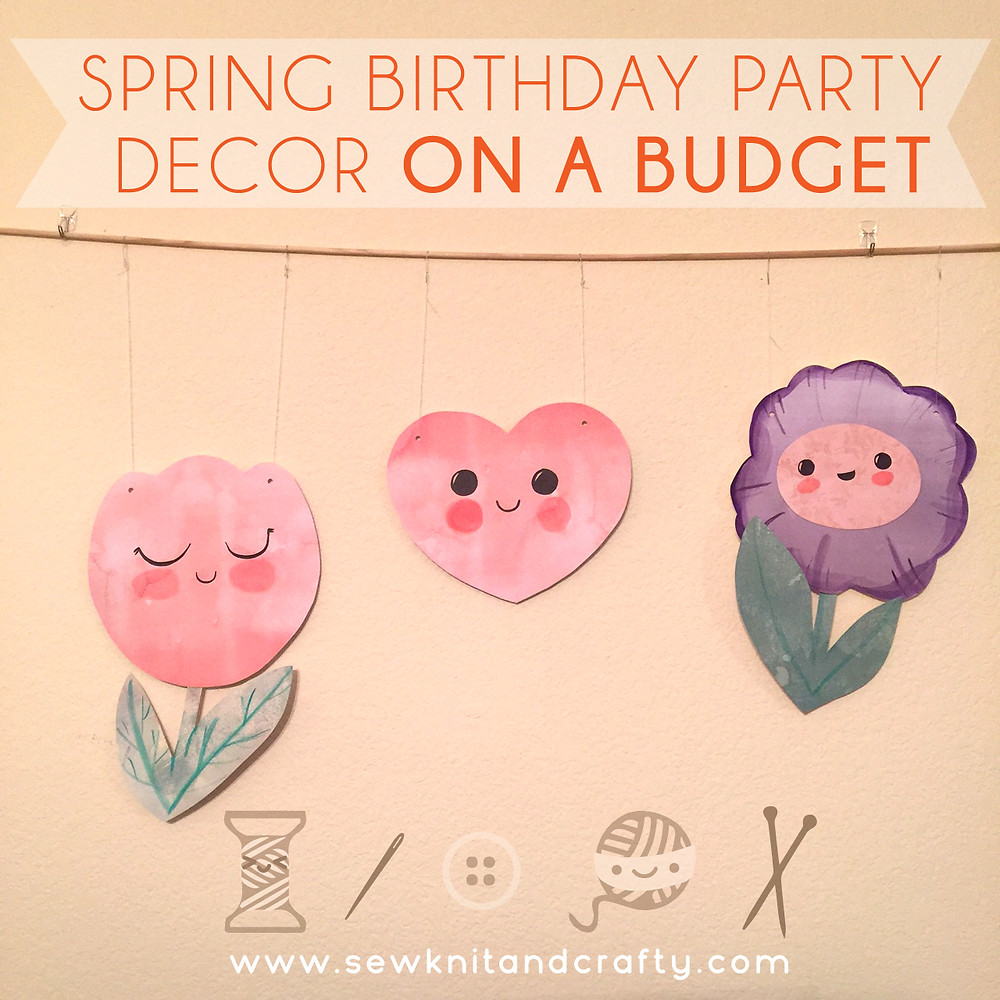 Spring Birthday Decor Ideas