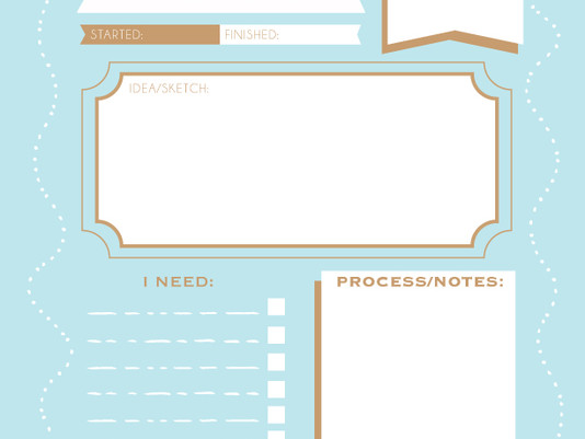 Craft Idea Printable PDF