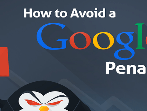 How To Avoid Google Penalties?