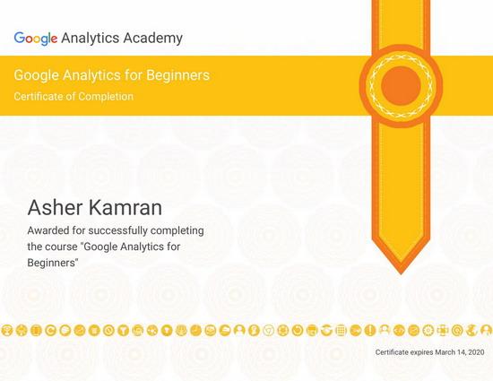 Google Certified SEO Expert