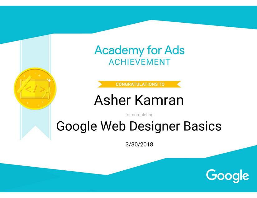 Google Certificate SEO Expert