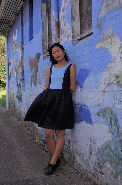 Georgia linen dress