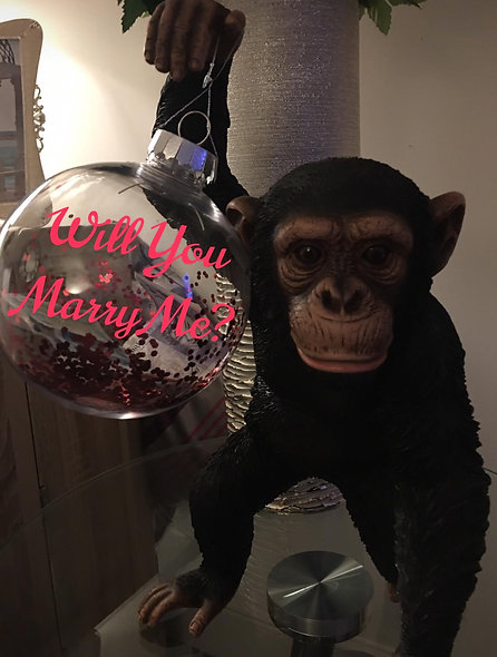 Huge Bauble With Special Message