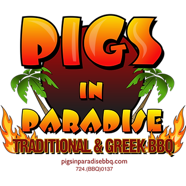 Pigs in Paradise Traditional & Greek BBQ, Barbeque, food truck, pittsburgh food truck