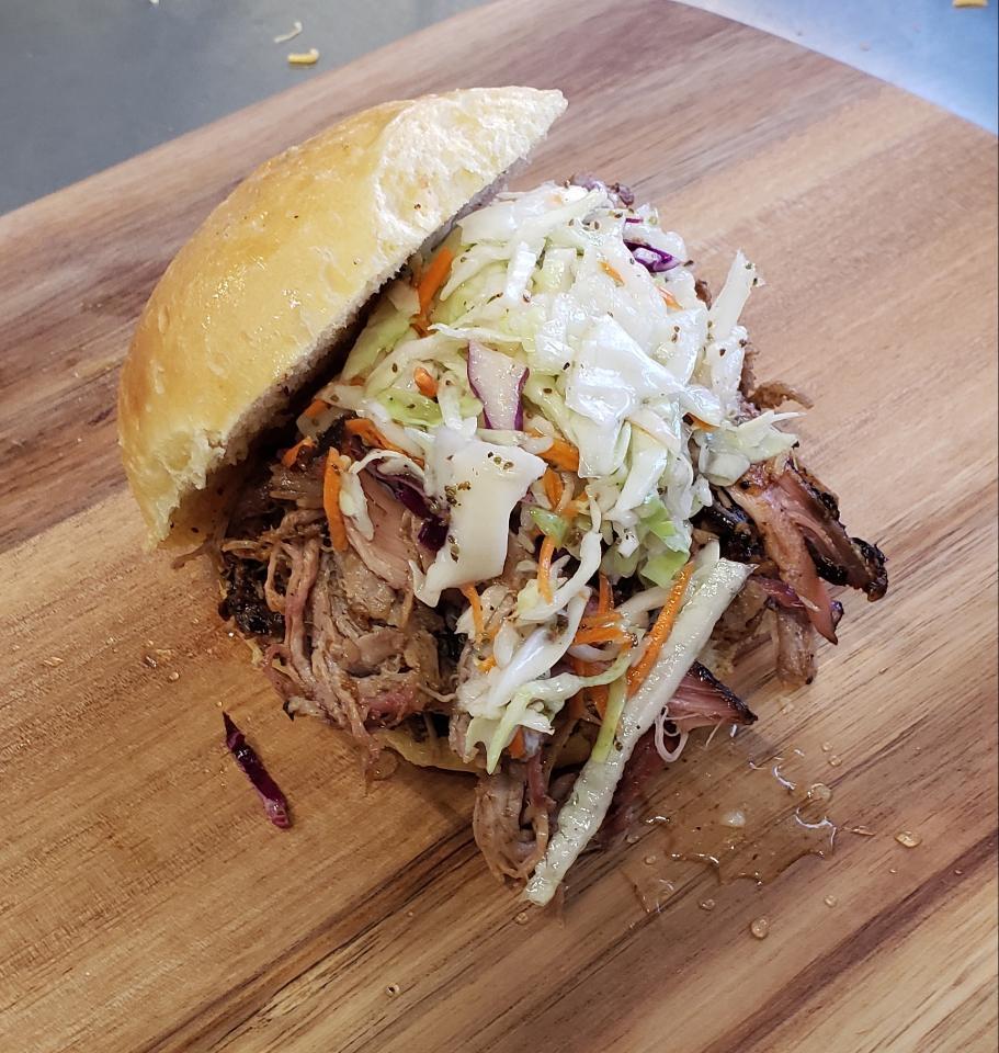 Pork Sandwich with Slaw