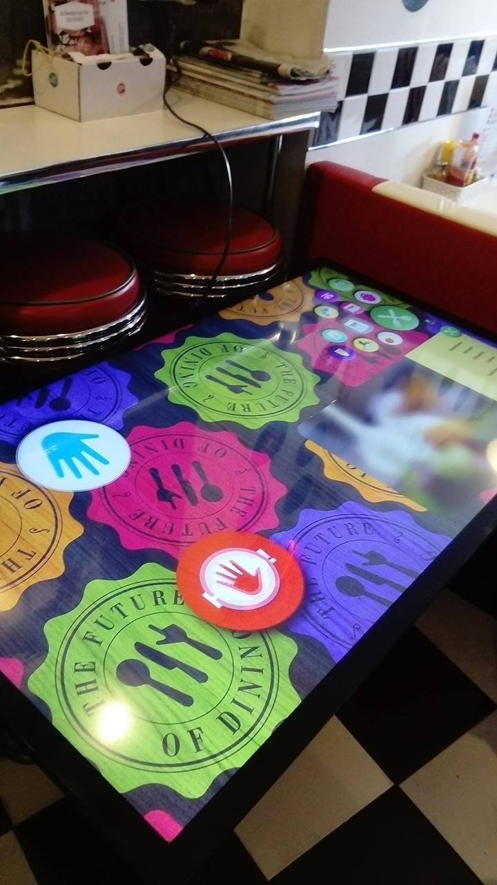 Interactive Restaurant Table