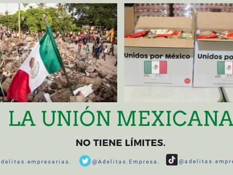 LA UNIÓN DE LOS  MEXICANOS, NO TIENE LÍMITES. 🇲🇽👏