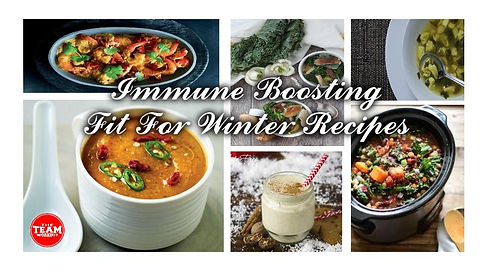 Teamworkout Immune Boosting Recipes