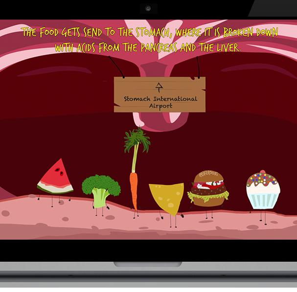 Digestive System - explanatory animation