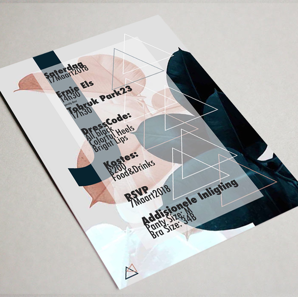 invitation - graphic design