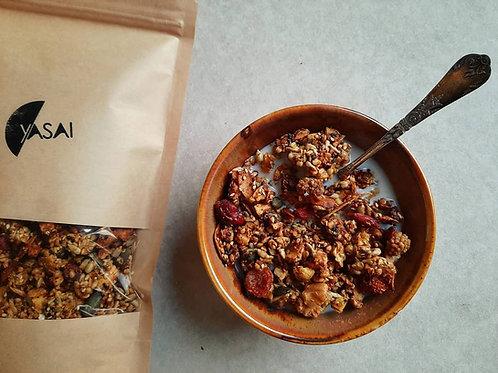 Golden spice granola