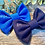 Thumbnail: Navy Classic Bow Prong Clip