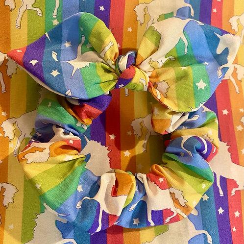 Rainbow Stripe Unicorn