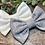 Thumbnail: Marl Grey Classic Bow Prong Clip