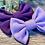 Thumbnail: Lilac Classic Bow Prong Clip