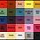 Thumbnail: Knot Bow Elasticated Headbands Colours of the Rainbow