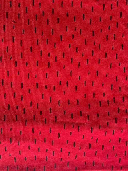 Red Berry Dash Classic Bow Headband
