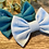 Thumbnail: Baby Blue Classic Bow Prong Clip